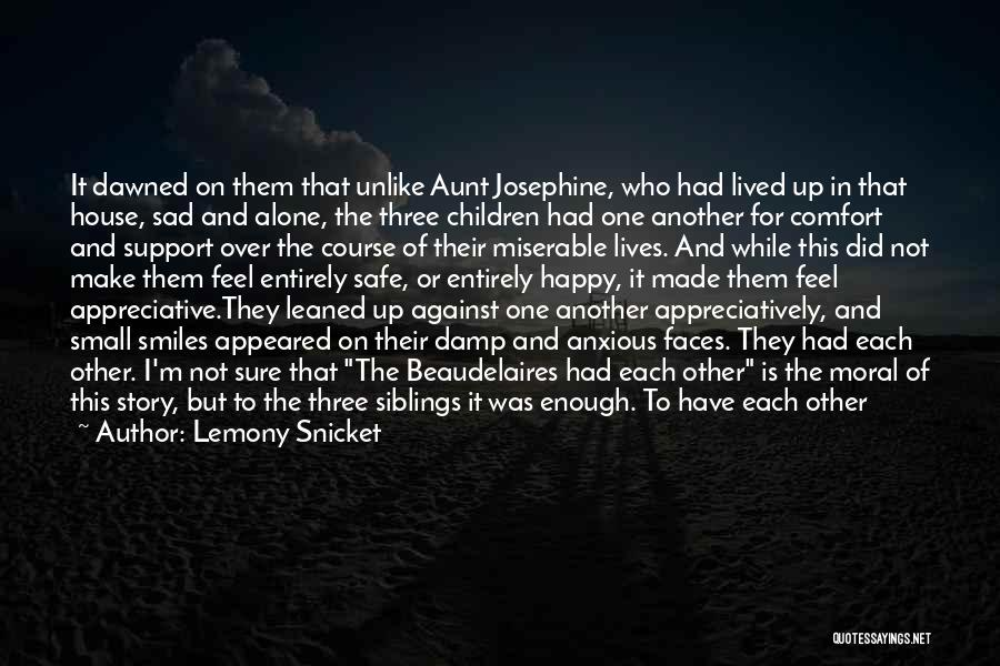 Happy But Sad Love Quotes By Lemony Snicket