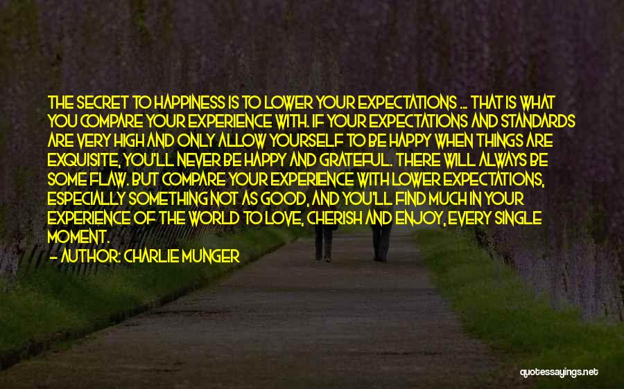 Happy But Single Quotes By Charlie Munger
