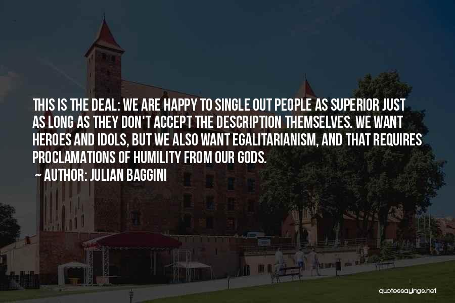 Happy But Single Quotes By Julian Baggini