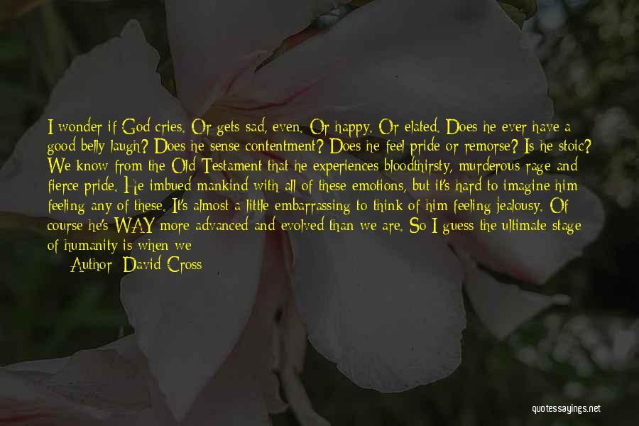 Happy Even Sad Quotes By David Cross