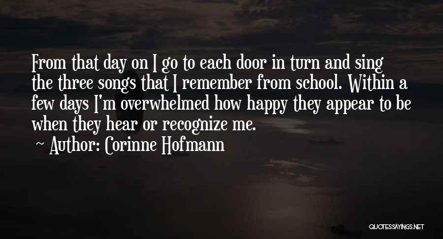 Happy Friendship Day Love Quotes By Corinne Hofmann