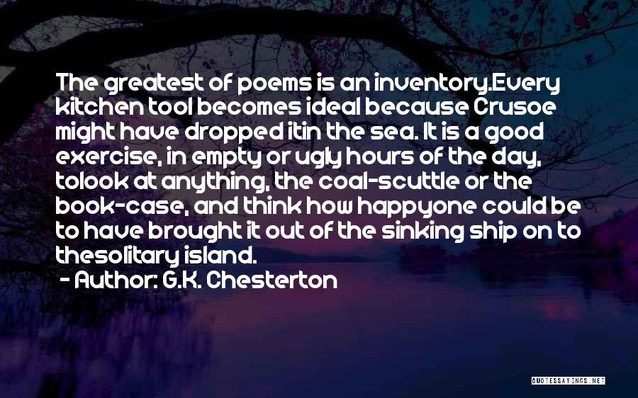 Happy Hours Quotes By G.K. Chesterton