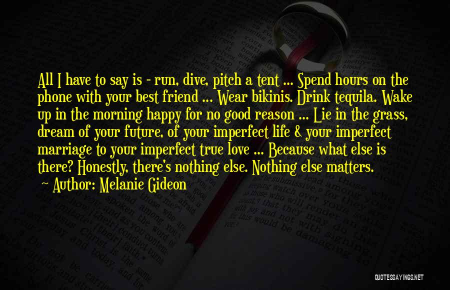 Happy Hours Quotes By Melanie Gideon