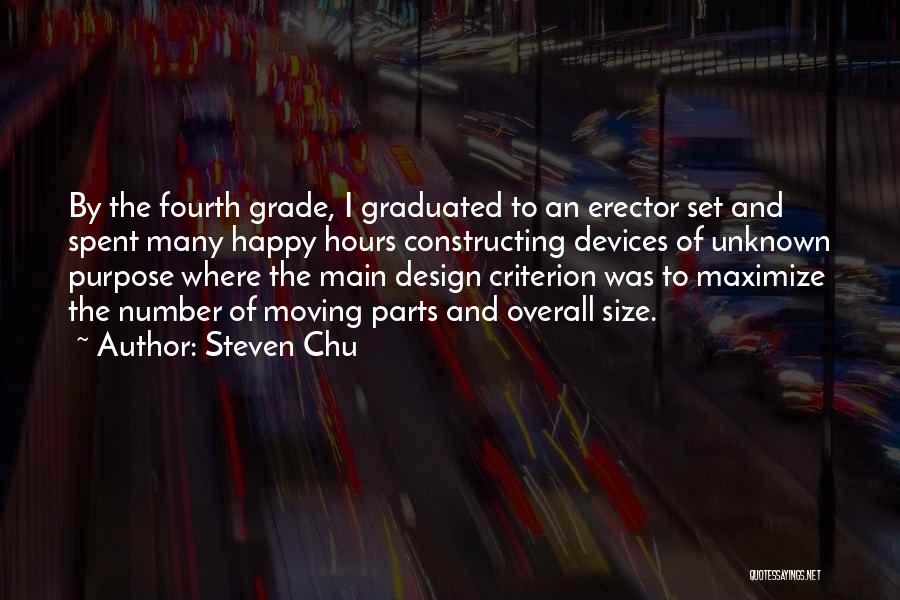 Happy Hours Quotes By Steven Chu