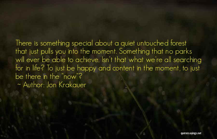 Happy Life Now Quotes By Jon Krakauer