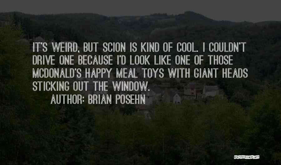Happy Meal Quotes By Brian Posehn