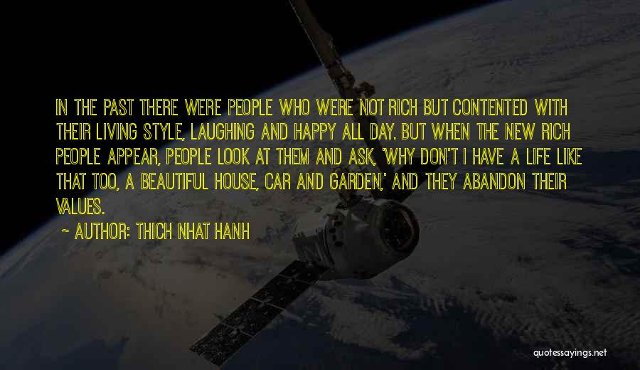 Happy New Car Quotes By Thich Nhat Hanh
