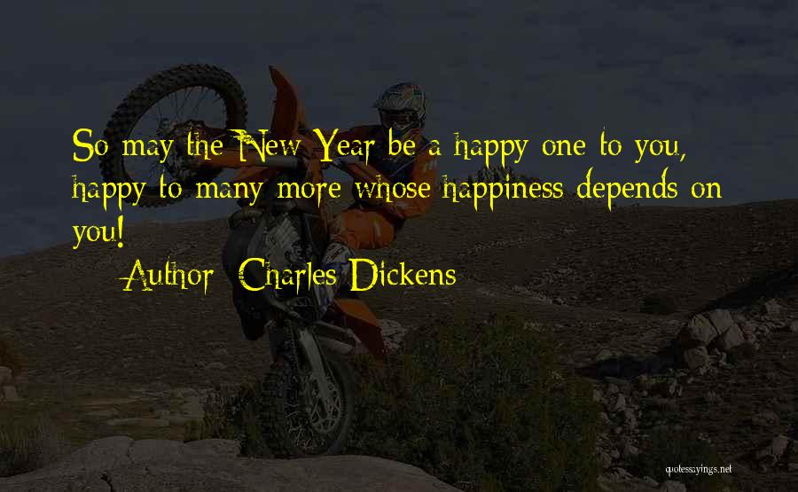 Happy New Year Quotes By Charles Dickens
