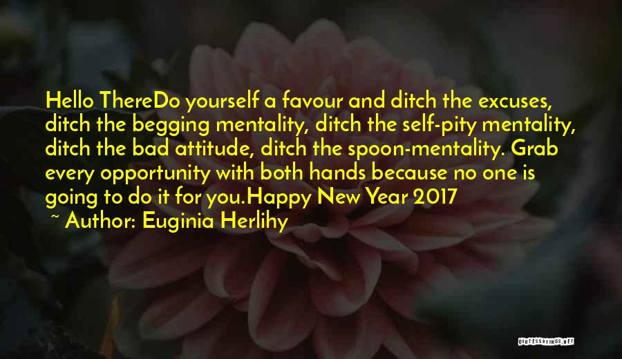 Happy New Year Quotes By Euginia Herlihy