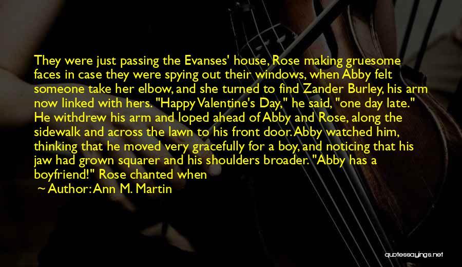 Happy Rose Day Quotes By Ann M. Martin