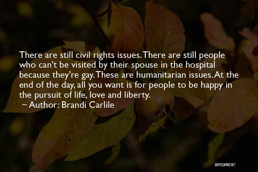 Happy Spouse Quotes By Brandi Carlile