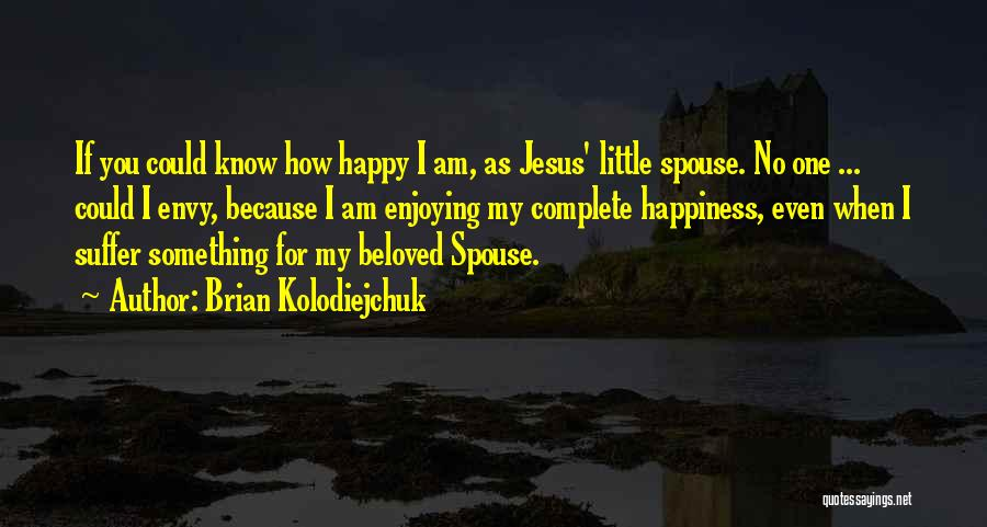 Happy Spouse Quotes By Brian Kolodiejchuk