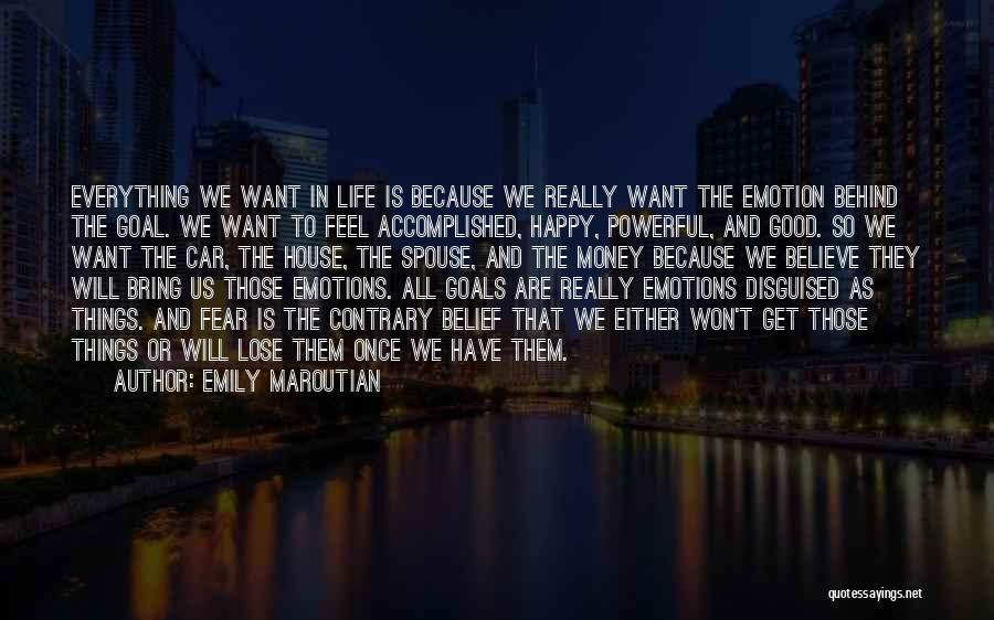 Happy Spouse Quotes By Emily Maroutian