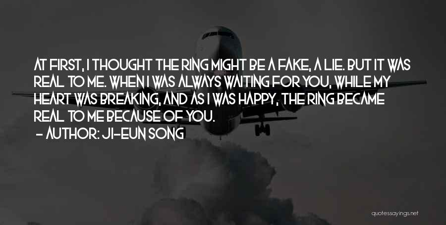 Happy While Waiting Quotes By Ji-Eun Song