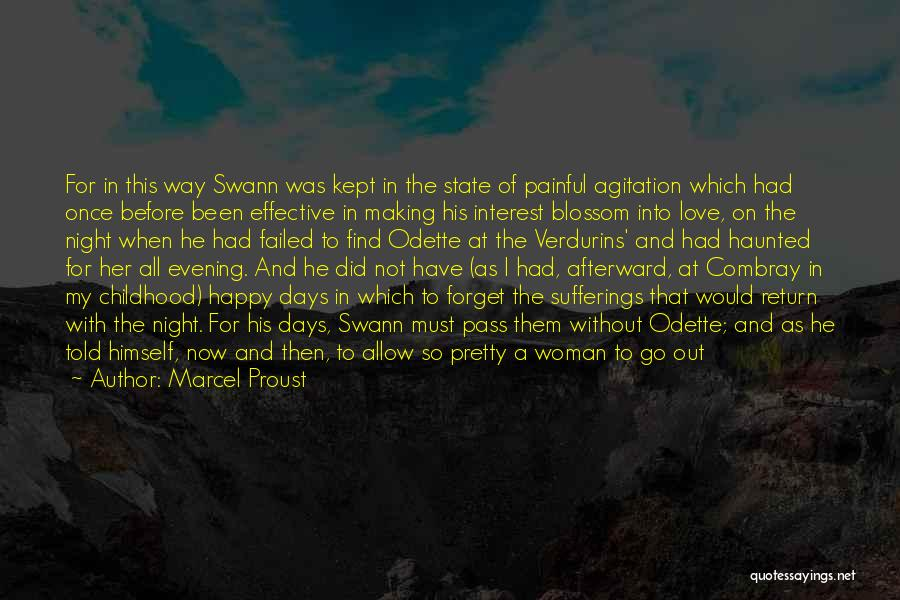 Happy Woman Days Quotes By Marcel Proust
