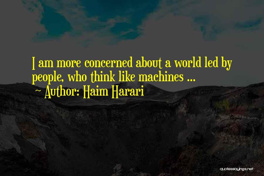 Harari Quotes By Haim Harari