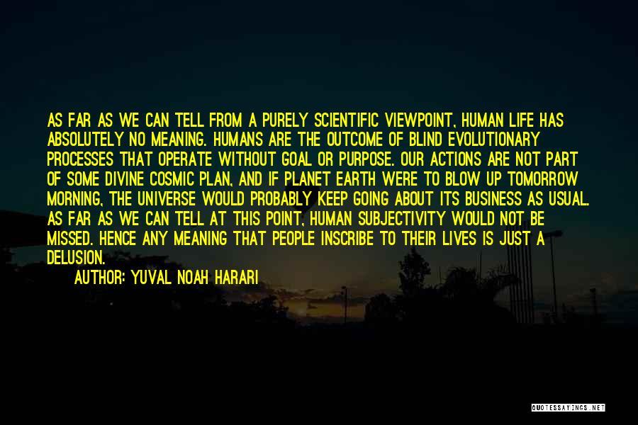 Harari Quotes By Yuval Noah Harari