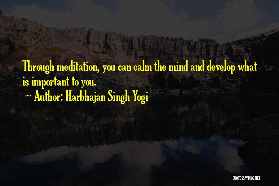 Harbhajan Singh Yogi Quotes 1364420
