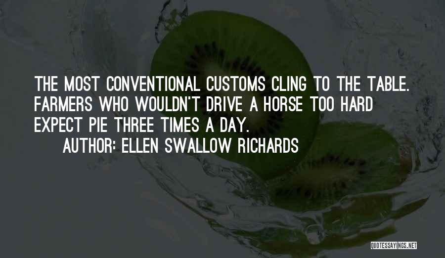 Hard Drive Quotes By Ellen Swallow Richards