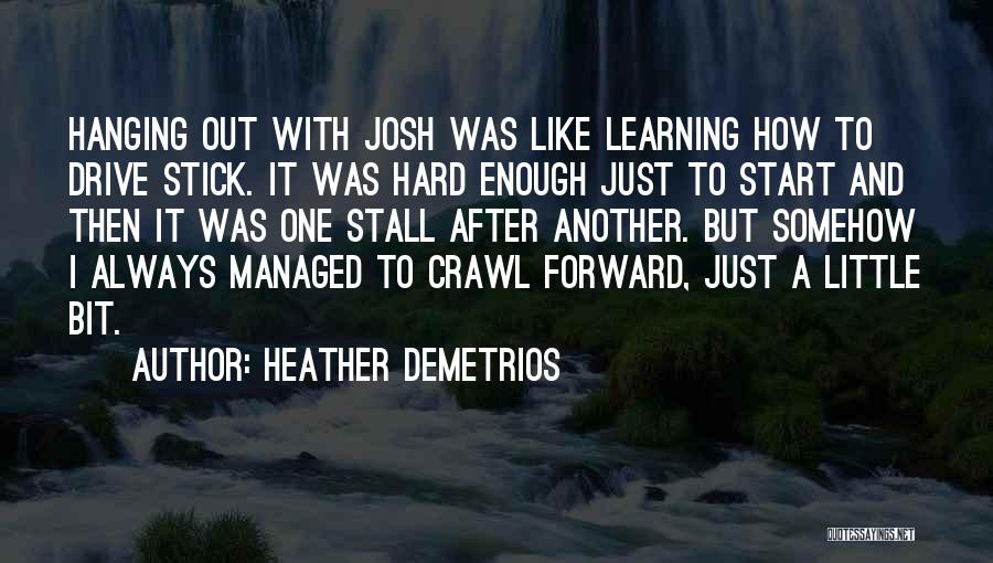 Hard Drive Quotes By Heather Demetrios