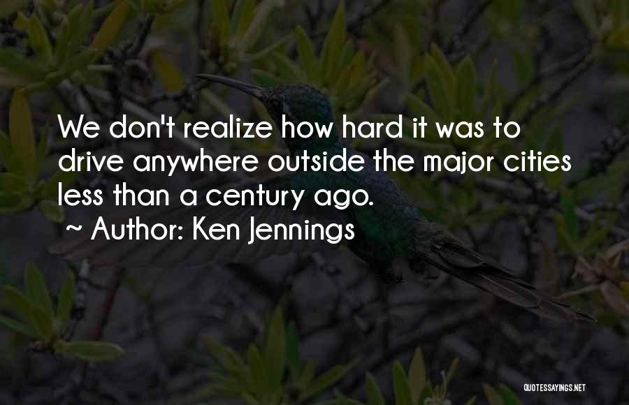Hard Drive Quotes By Ken Jennings