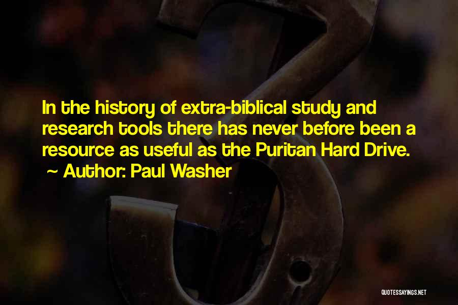 Hard Drive Quotes By Paul Washer
