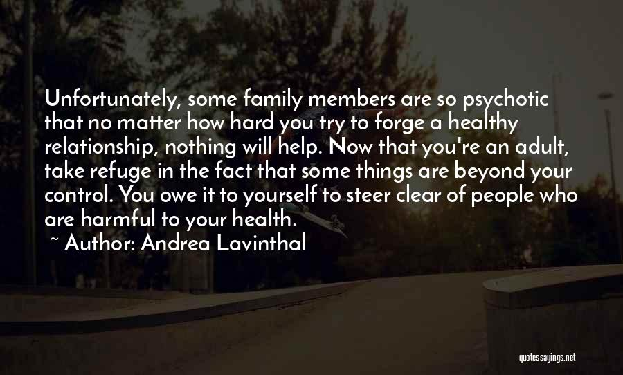 Hard Things Quotes By Andrea Lavinthal