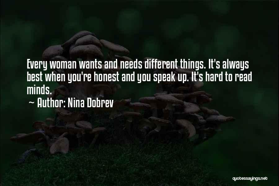 Hard Things Quotes By Nina Dobrev