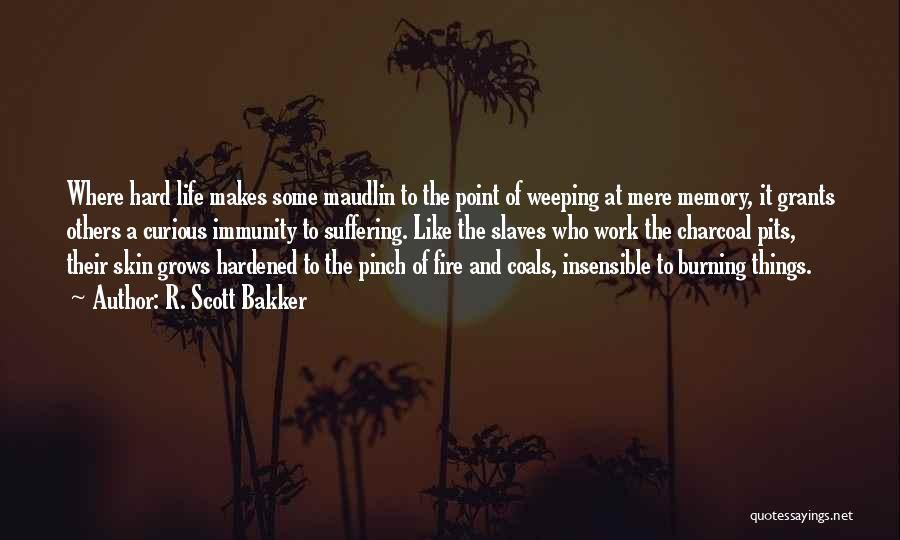 Hard Things Quotes By R. Scott Bakker