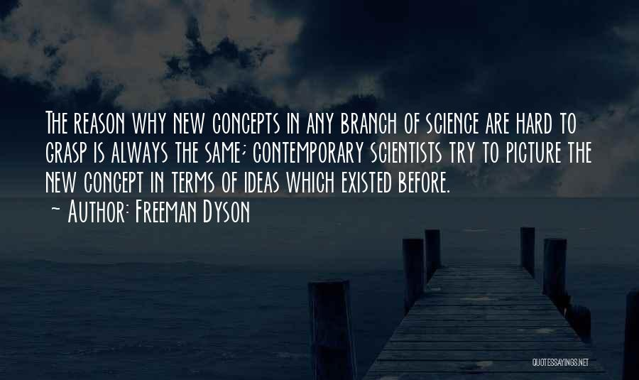 Hard To Grasp Quotes By Freeman Dyson