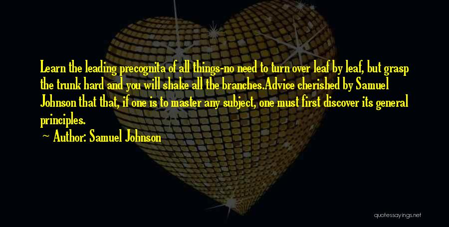 Hard To Grasp Quotes By Samuel Johnson
