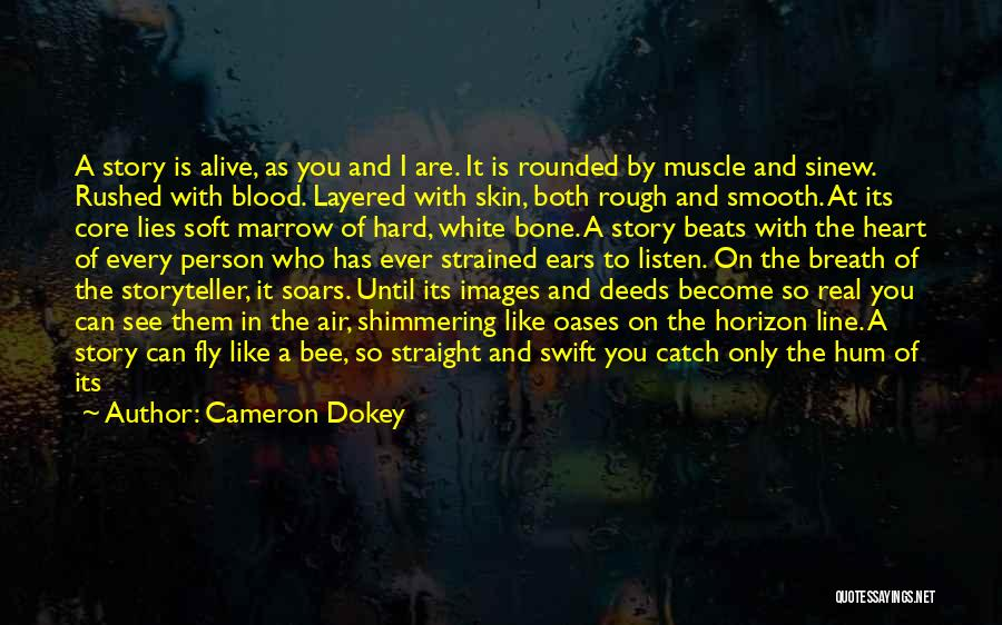 Hard To Move On Quotes By Cameron Dokey