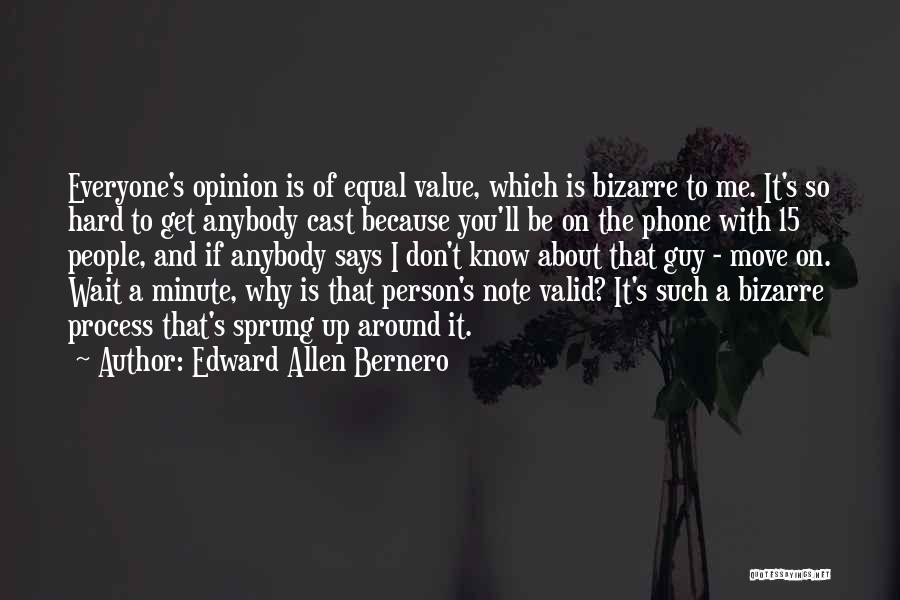 Hard To Move On Quotes By Edward Allen Bernero