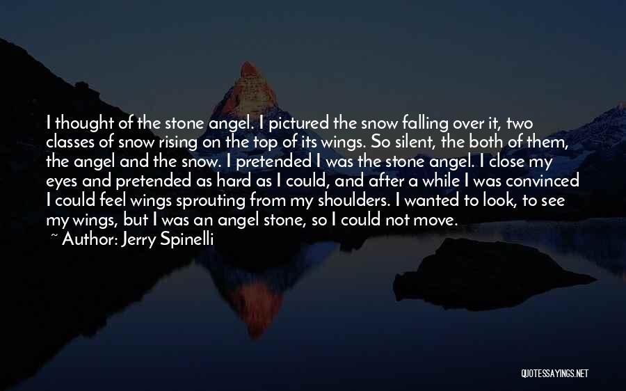Hard To Move On Quotes By Jerry Spinelli
