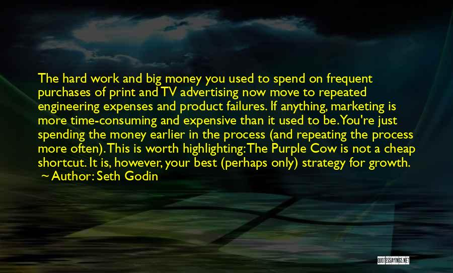 Hard To Move On Quotes By Seth Godin
