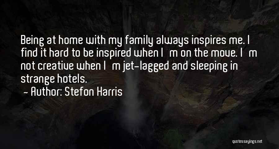 Hard To Move On Quotes By Stefon Harris
