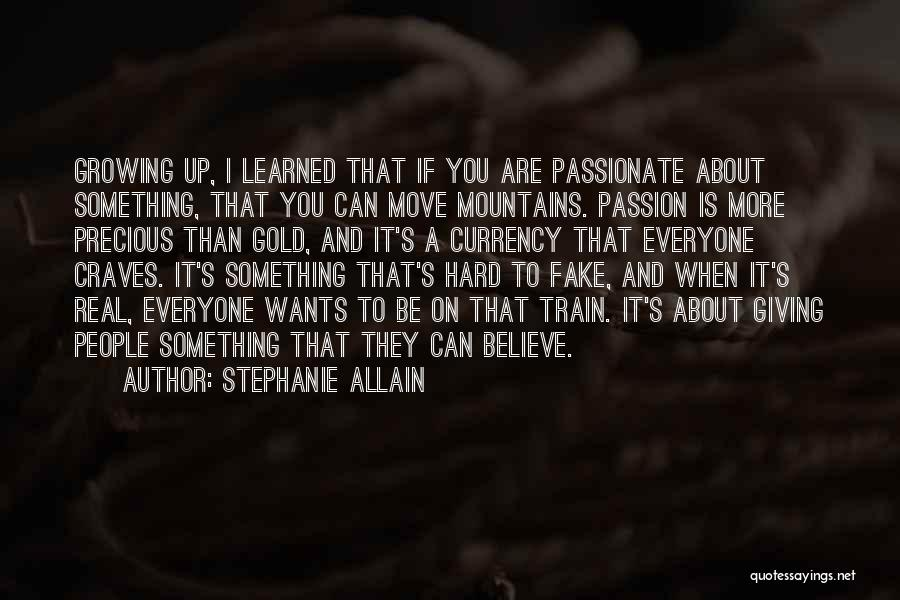 Hard To Move On Quotes By Stephanie Allain