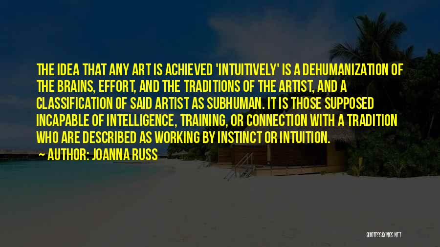 Hard Training Quotes By Joanna Russ