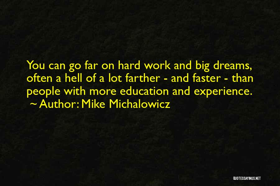 Hard Work And Motivational Quotes By Mike Michalowicz