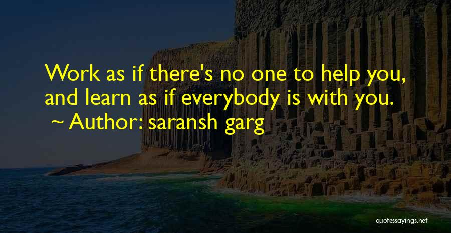 Hard Work And Motivational Quotes By Saransh Garg