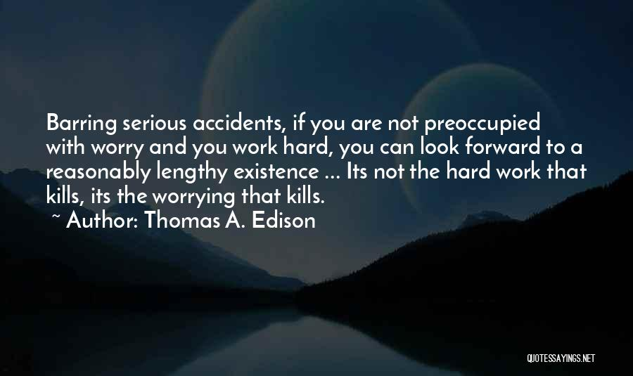 Hard Work And Motivational Quotes By Thomas A. Edison