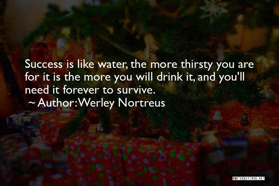 Hard Work And Motivational Quotes By Werley Nortreus