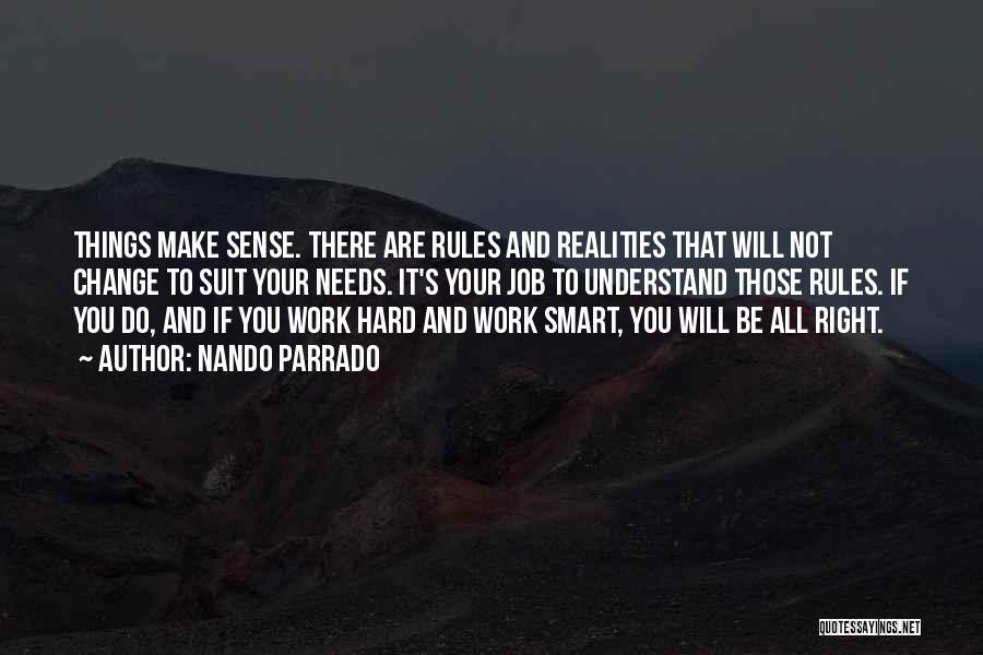 Hard Work Smart Work Quotes By Nando Parrado