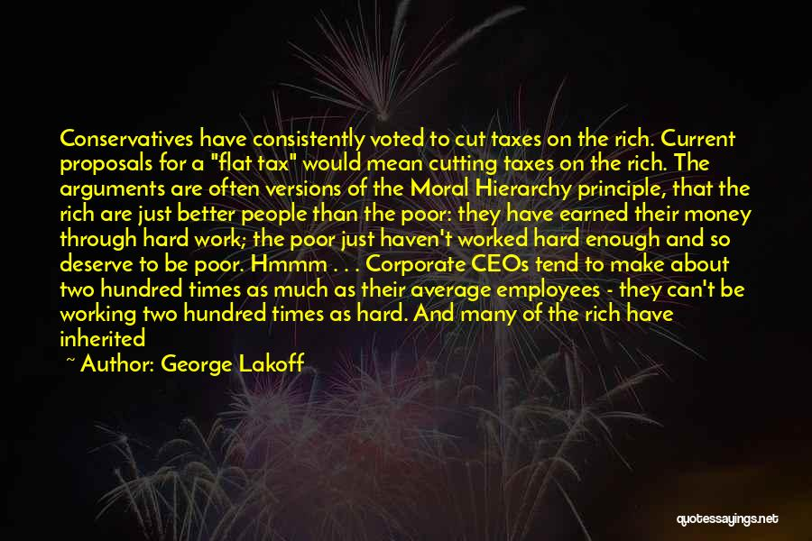 Hard Working Employees Quotes By George Lakoff