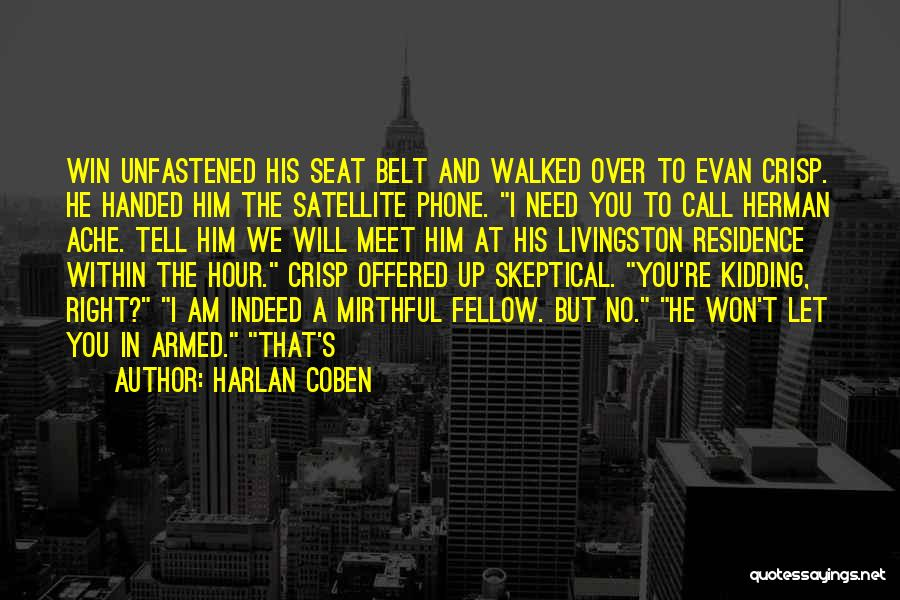 Harlan Coben Quotes 1534082