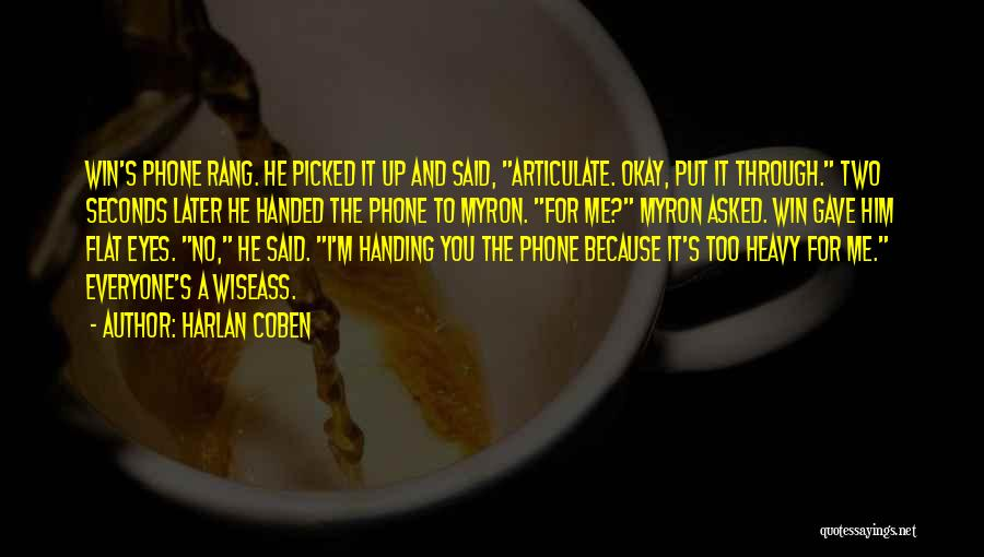 Harlan Coben Quotes 160780