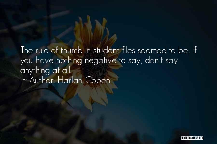 Harlan Coben Quotes 669057