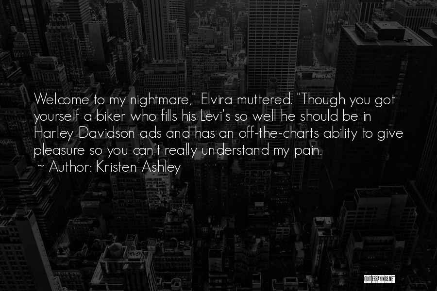 Harley Davidson Quotes By Kristen Ashley