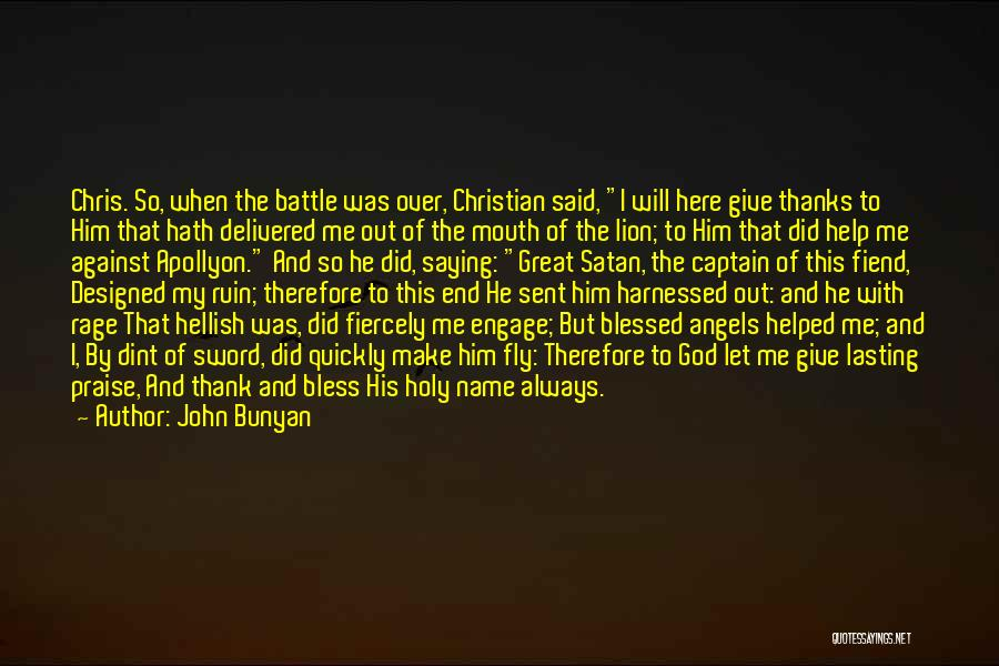 Harnessed Quotes By John Bunyan