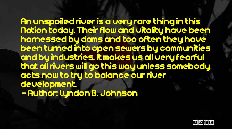 Harnessed Quotes By Lyndon B. Johnson